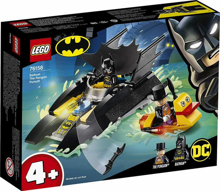 LEGO DC Super Heroes Batman Batboat The Penguin Pursuit! 76158