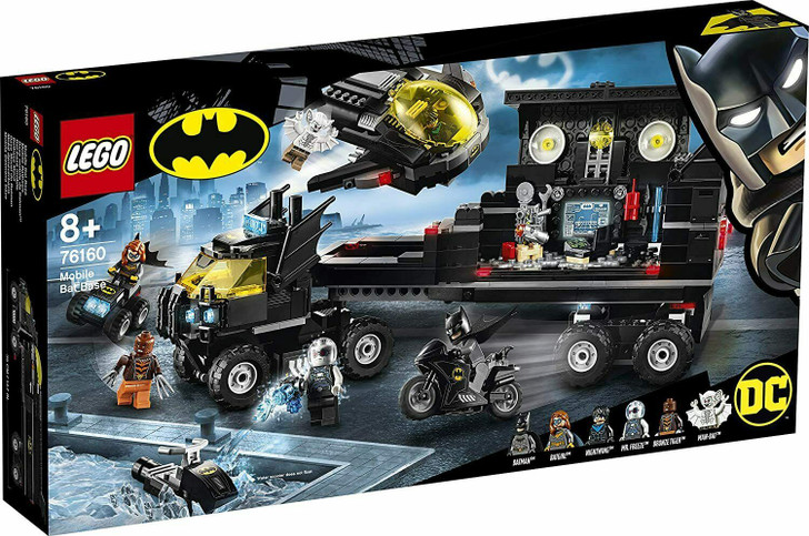 LEGO DC Super Heroes Batman Mobile Bat Base 76160