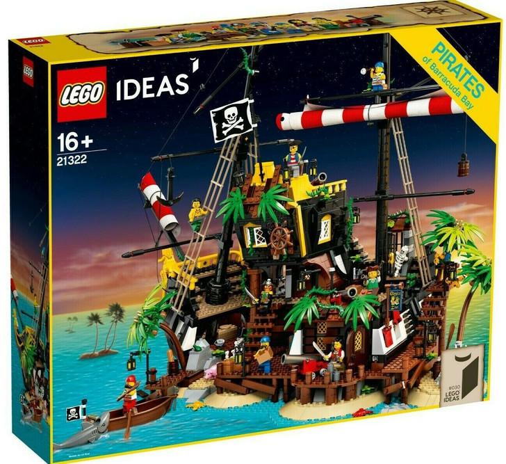 LEGO Ideas Pirates of Barracuda Bay 21322