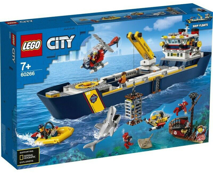 LEGO City Ocean Exploration Ship 60266