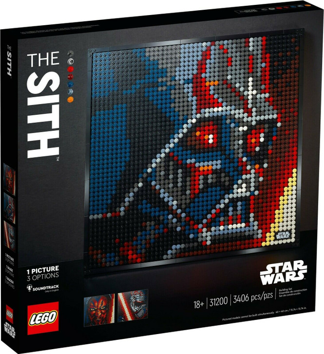 LEGO Art Star Wars The Sith 31200
