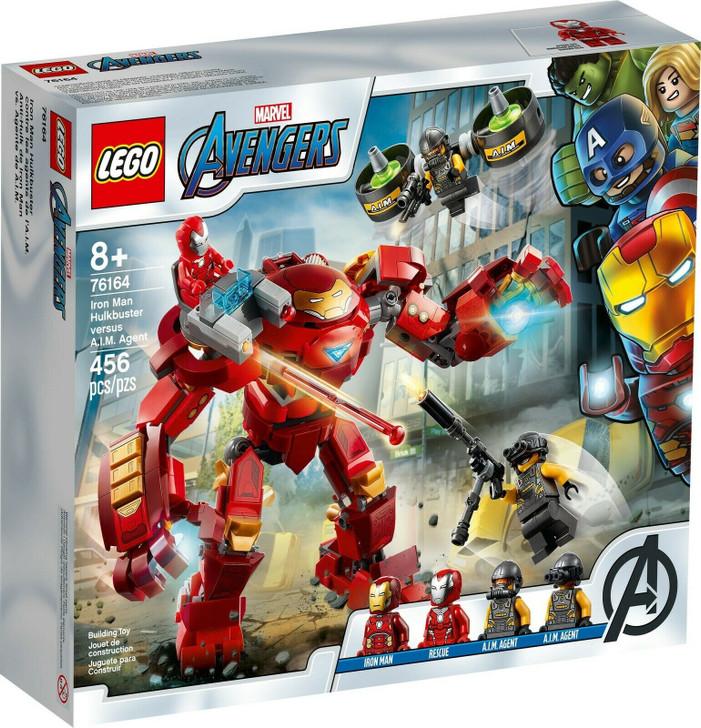 LEGO Super Heroes Iron Man Hulkbuster versus A.I.M. Agent 76164