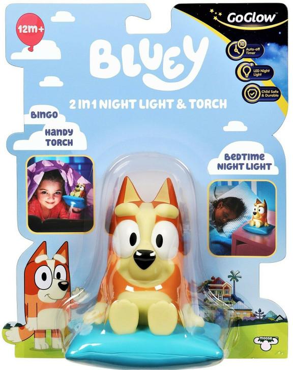 Bluey GoGlow Buddy Bingo Night Light and Torch - Bingo
