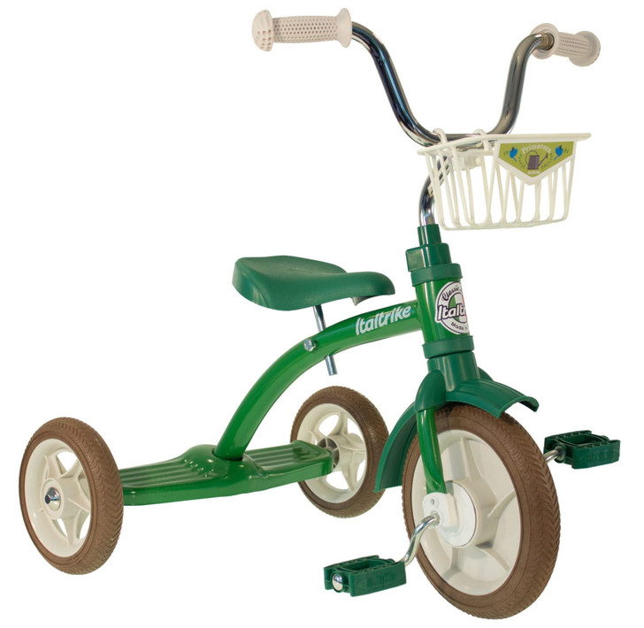 "Italtrike Tricycle 10"" - Super Lucy Primavera Green"
