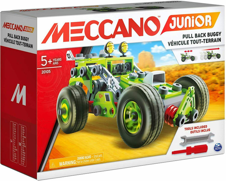 Meccano Junior Pull Back Buggy