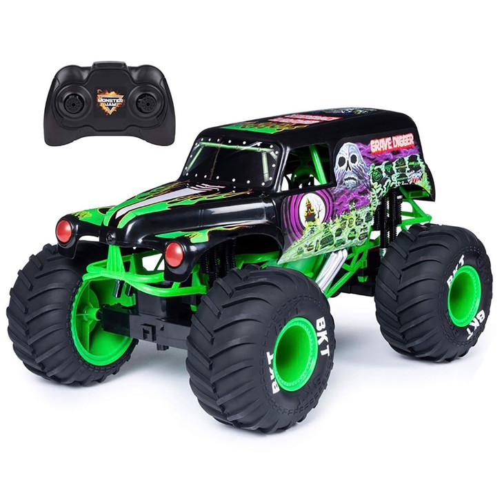 Monster Jam 1:10 Remote Control Grave Digger Truck