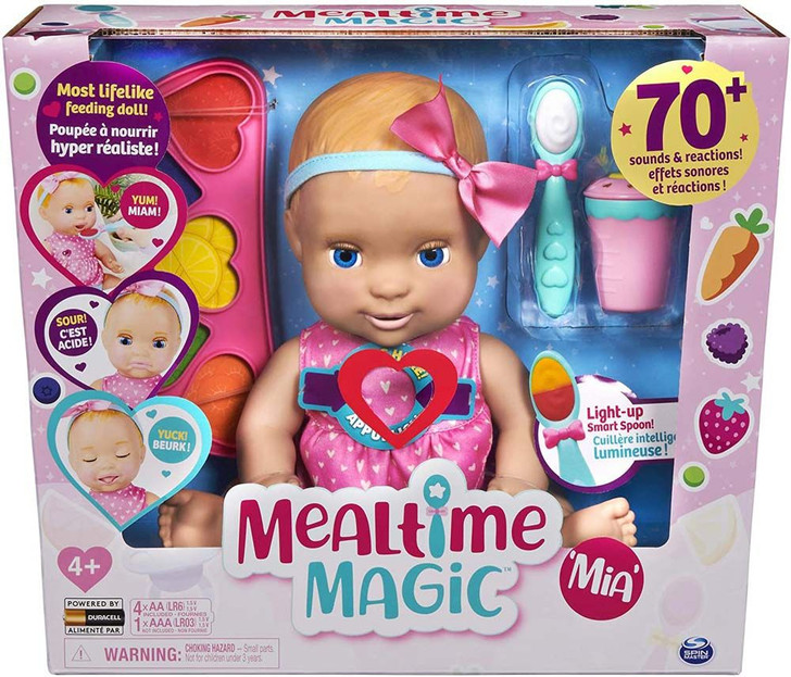 Luvabella Mealtime Magic - Mia Doll
