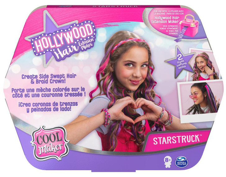 Cool Maker Hollywood Hair Starstruck Hair Extension Refill (requires Hollywood Hair  Extension Maker Studio)