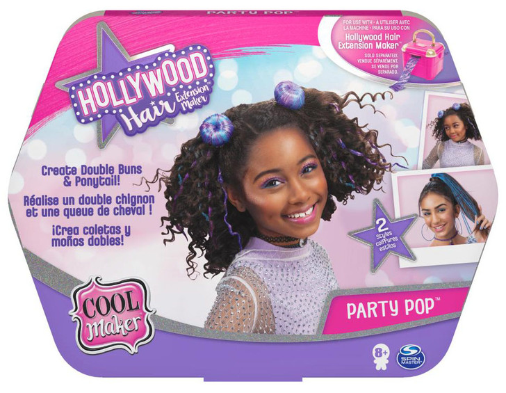 Cool Maker Hollywood Hair Party Pop Hair Extension Refill (requires Hollywood Hair  Extension Maker Studio)