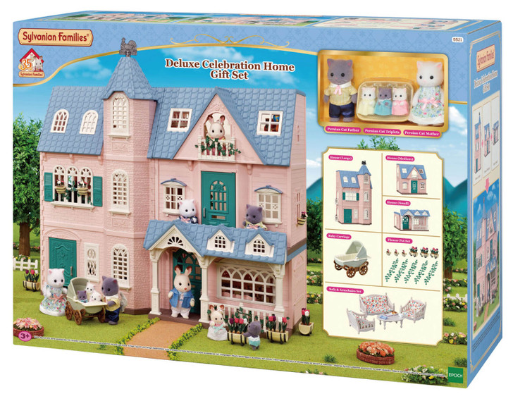 Sylvanian Families - Deluxe Celebration Home Gift Set SF5521