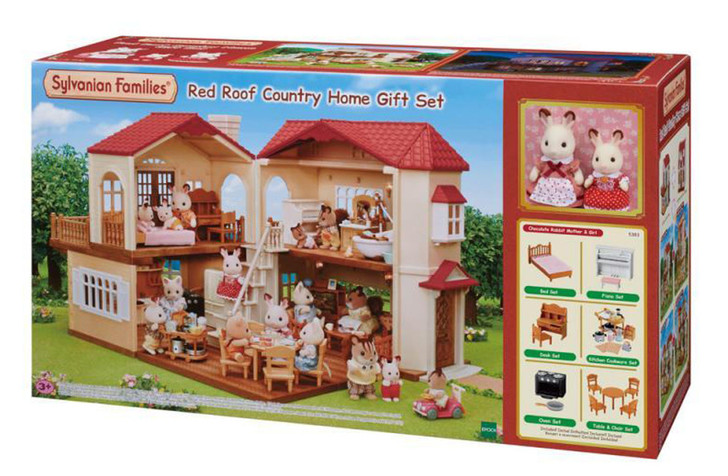 Sylvanian Families - Red Roof Country Home GIFT SET SF5383