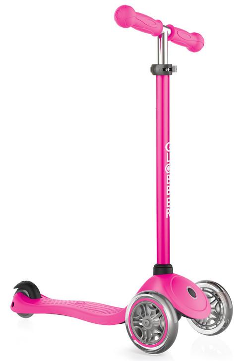 Globber Primo 3 Wheel Scooter v2 - Pink