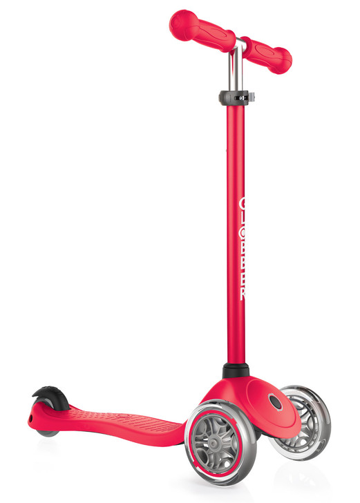 Globber Primo 3 Wheel Scooter v2 - Red