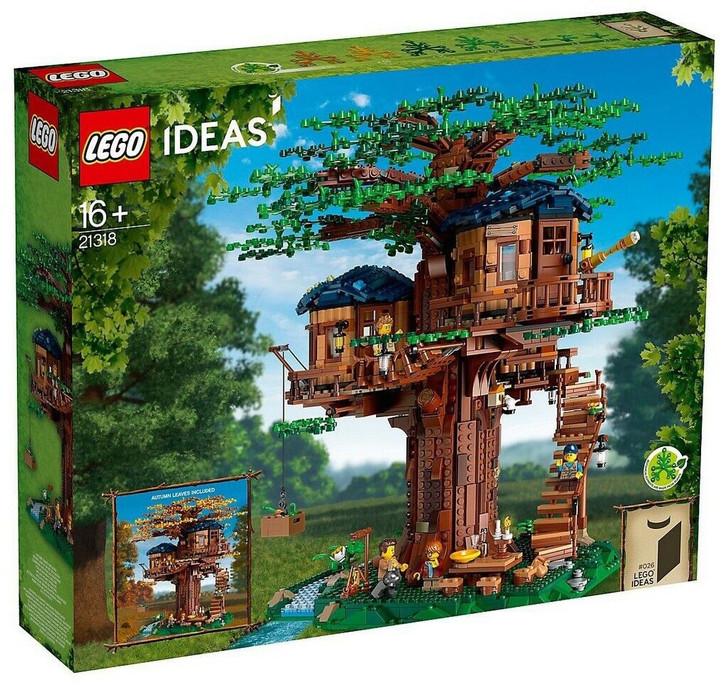 LEGO Ideas Tree House 21318 - DISCOUNTED DAMAGED BOX