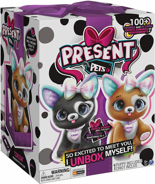 Present Pets Rainbow Glitter Pups