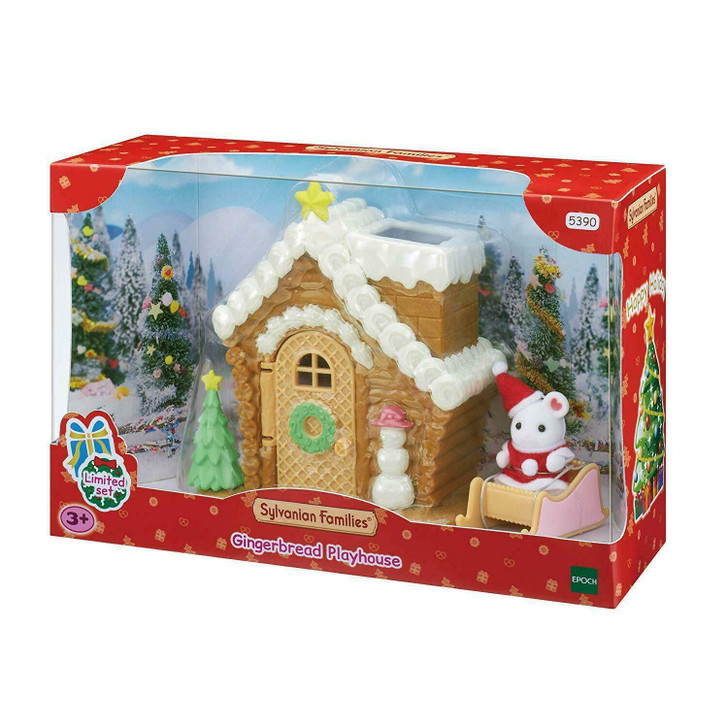 Sylvanian Families - Gingerbread Playhouse Limited Christmas Set SF5390