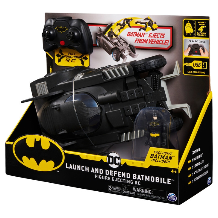 Batman Radio Control Launch & Defend Batmobile