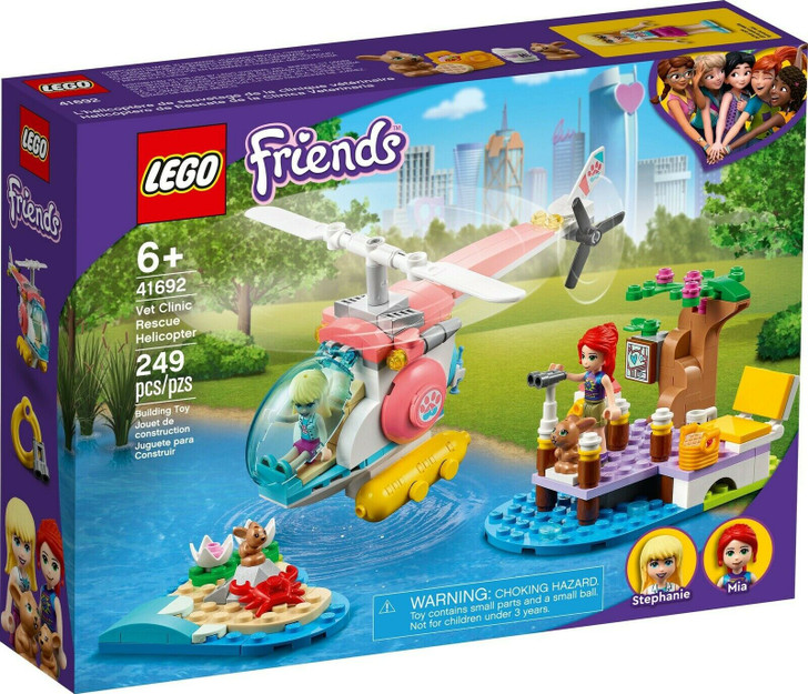 LEGO Friends Vet Rescue Helicopter 41692