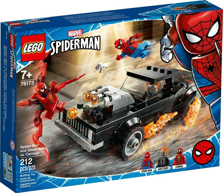 LEGO Marvel Super Heroes Spider-Man and Ghost Rider vs. Carnage 76173