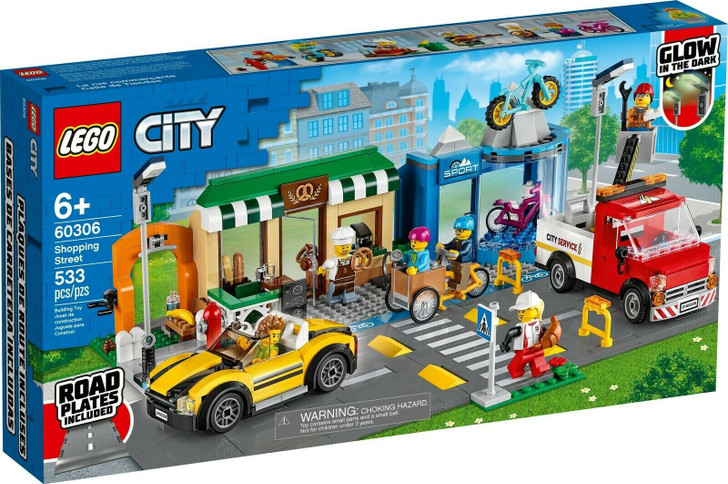 LEGO City Shopping Street 60306