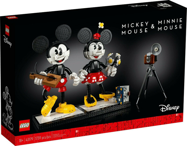 LEGO Disney Mickey Mouse & Minnie Mouse Buildable Characters 43179