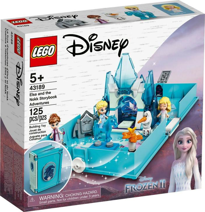 LEGO Disney Frozen 2 Elsa and the Nokk Storybook 43189