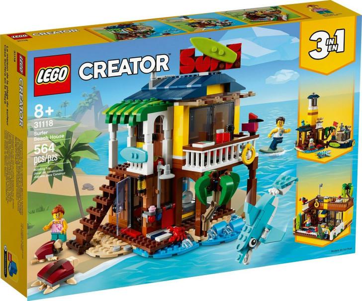 LEGO Creator Surfer Beach House 31118