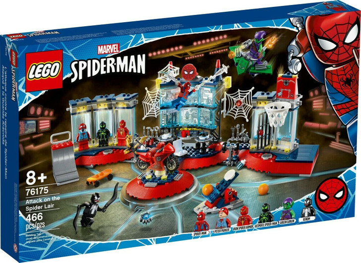 LEGO Marvel Super Heroes Attack on the Spider Lair 76175