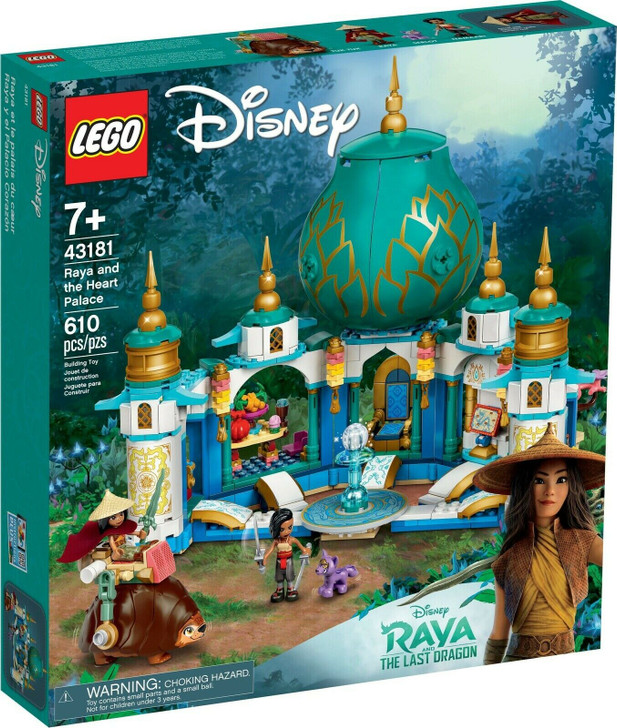 LEGO Disney Raya and the Heart Palace 43181
