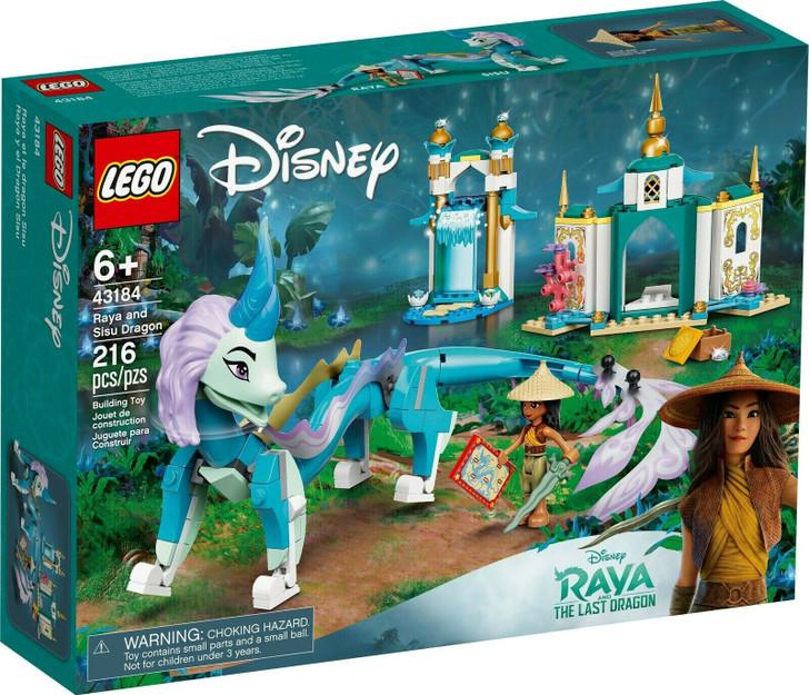 LEGO Disney Raya and Sisu Dragon 43184