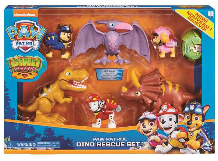 Paw Patrol Dino Rescue Set Figure Gift Pack