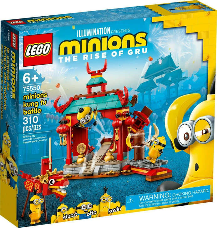 LEGO Minions Minions Kung Fu Battle 75550