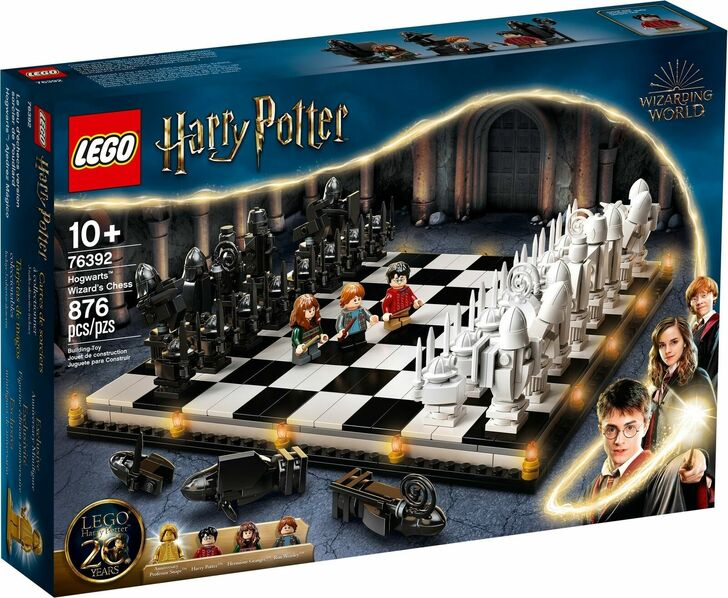 LEGO Harry Potter Hogwarts Wizard's Chess 76392