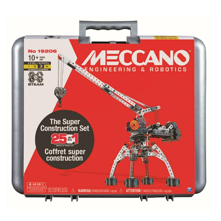 Meccano Super Construction Set 19206 - 25 models in 1