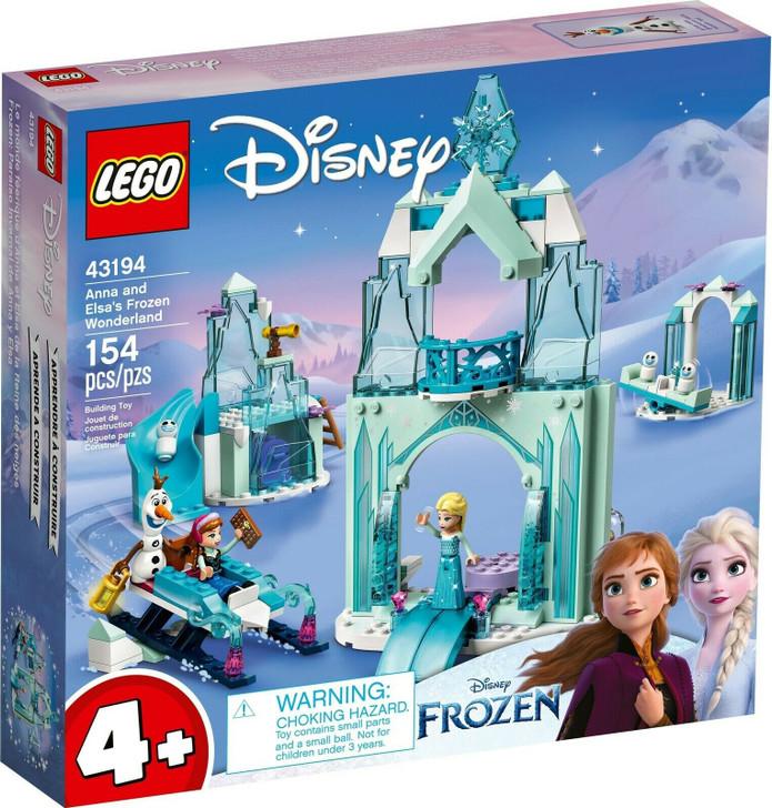 LEGO Disney Frozen Anna and Elsa's Frozen Wonderland 43194