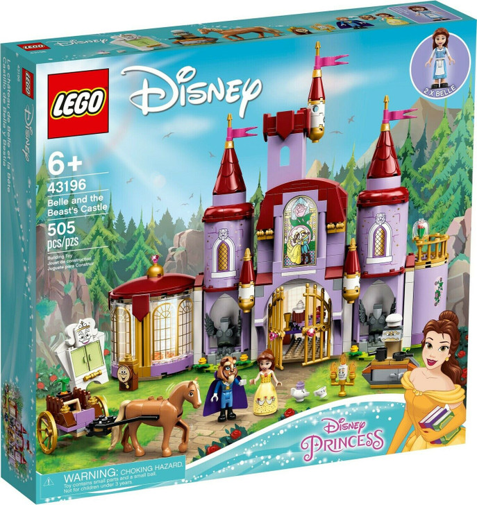 LEGO Disney Belle and the Beast's Castle 43196