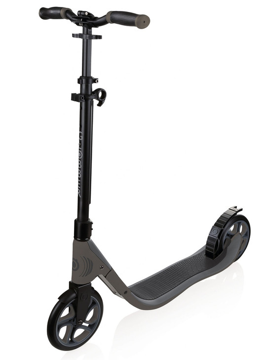 Globber ONE NL 205 - Adult Scooter - Black/Charcoal Grey - DISCOUNTED DAMAGED BOX