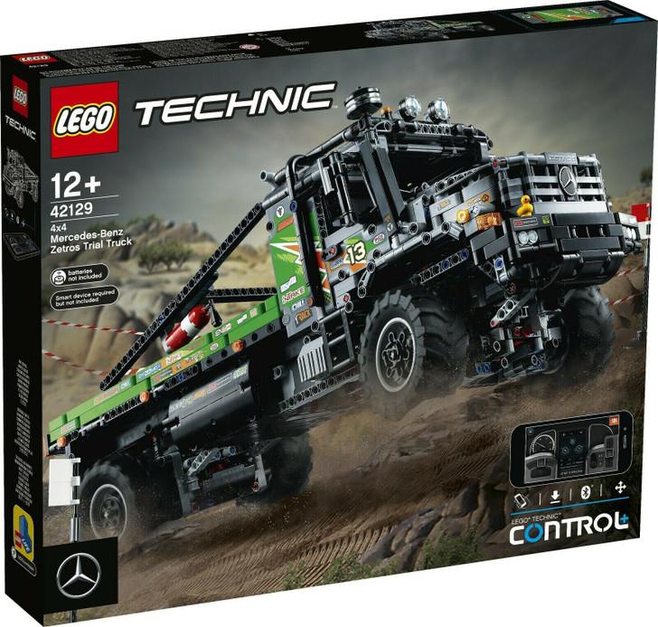 LEGO Technic App-Controlled 4x4 Mercedes-Benz Zetros Trial Truck 42129