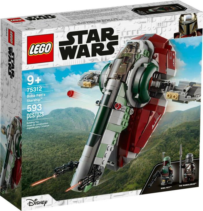 LEGO Star Wars Boba Fett's Starship 75312