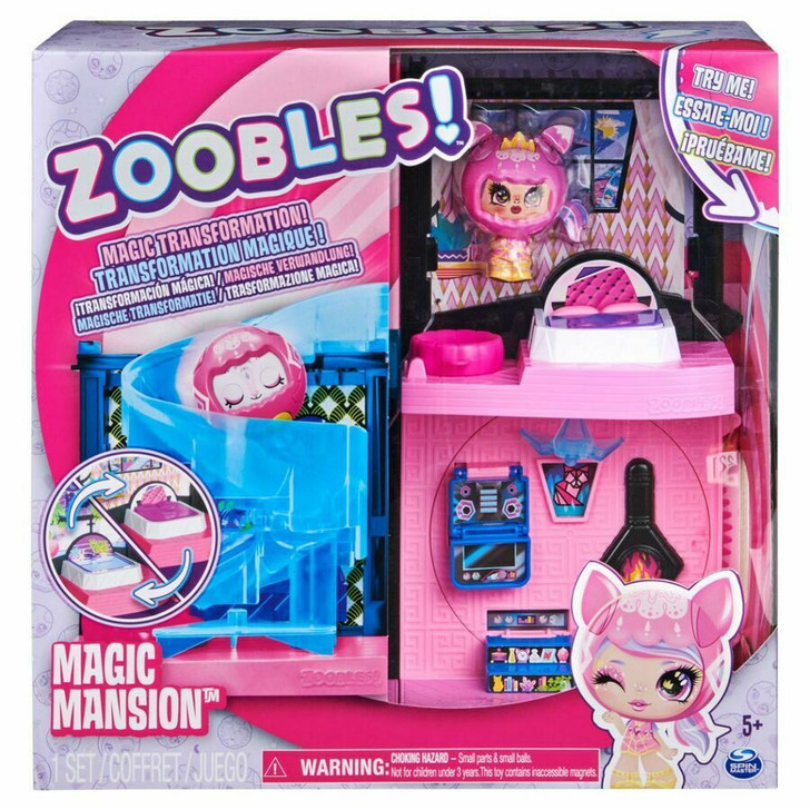 Zoobles Magic Mansion Spinning Playset