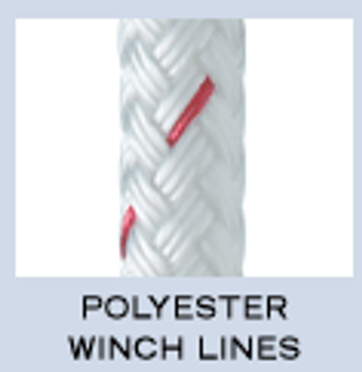 New England Double Braid Polyester Winch Lines
