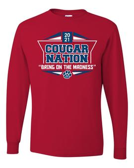 Cougar Nation Long Sleeve T-Shirt