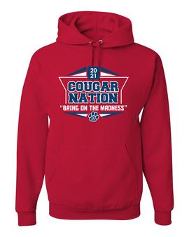 Cougar Nation Hooded Sweatshirt