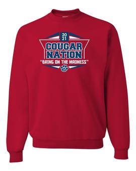 Cougar Nation Crewneck Sweatshirt