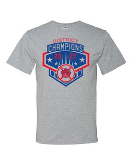 Baseball District Champs Short Sleeve T-Shirt