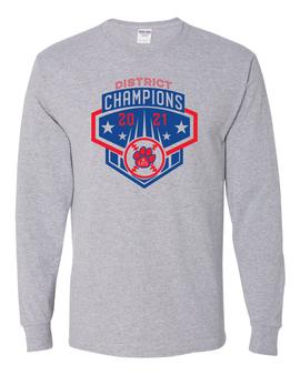 Baseball District Champs Long Sleeve T-Shirt