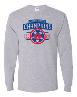 Soccer District Champs Long Sleeve T-Shirt