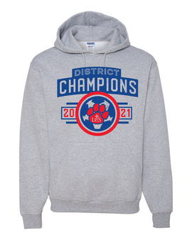 Soccer District Champs Hoodie