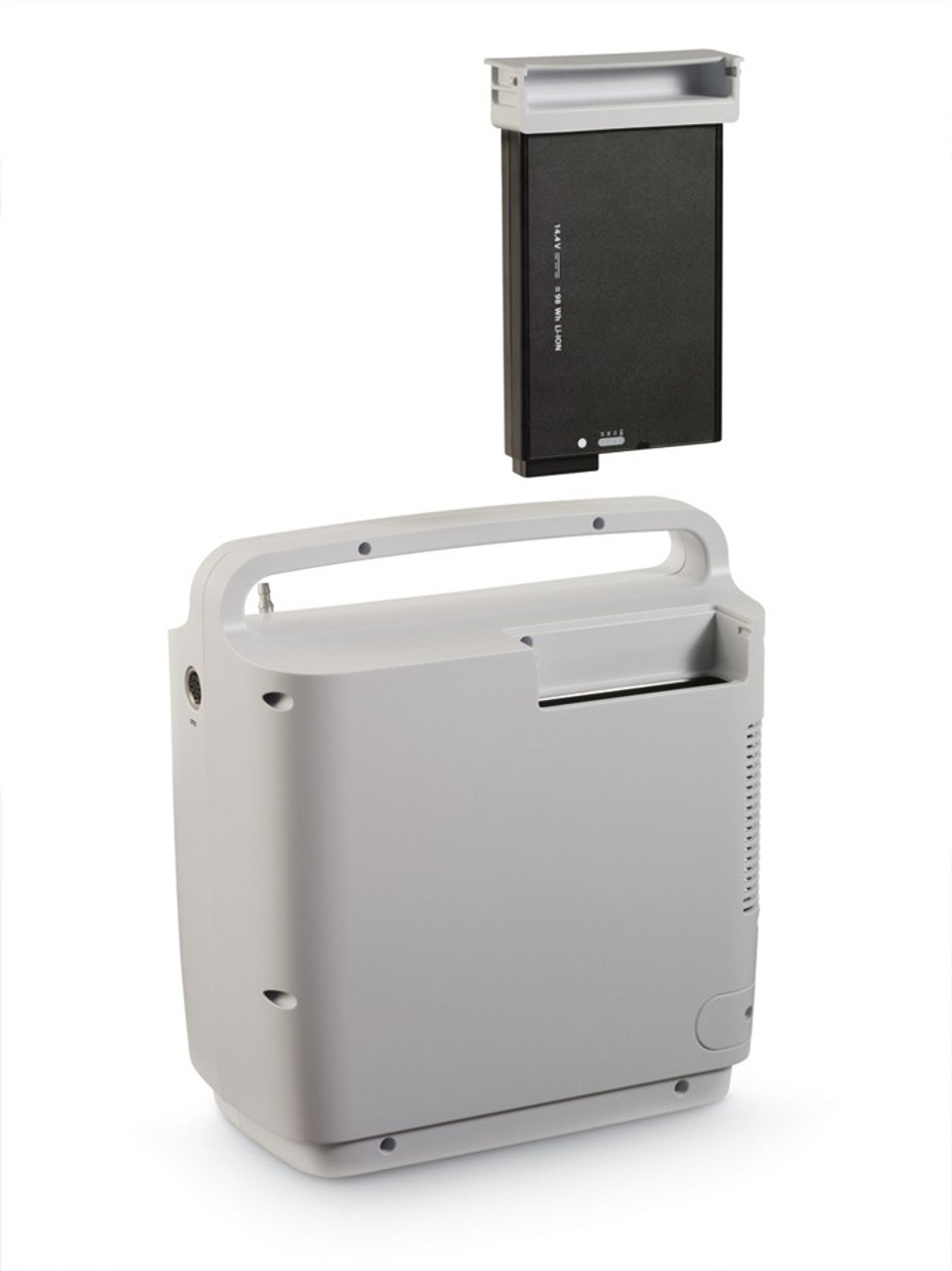 SimplyGo Portable Oxygen Concentrator Battery Cartridge Insertion
