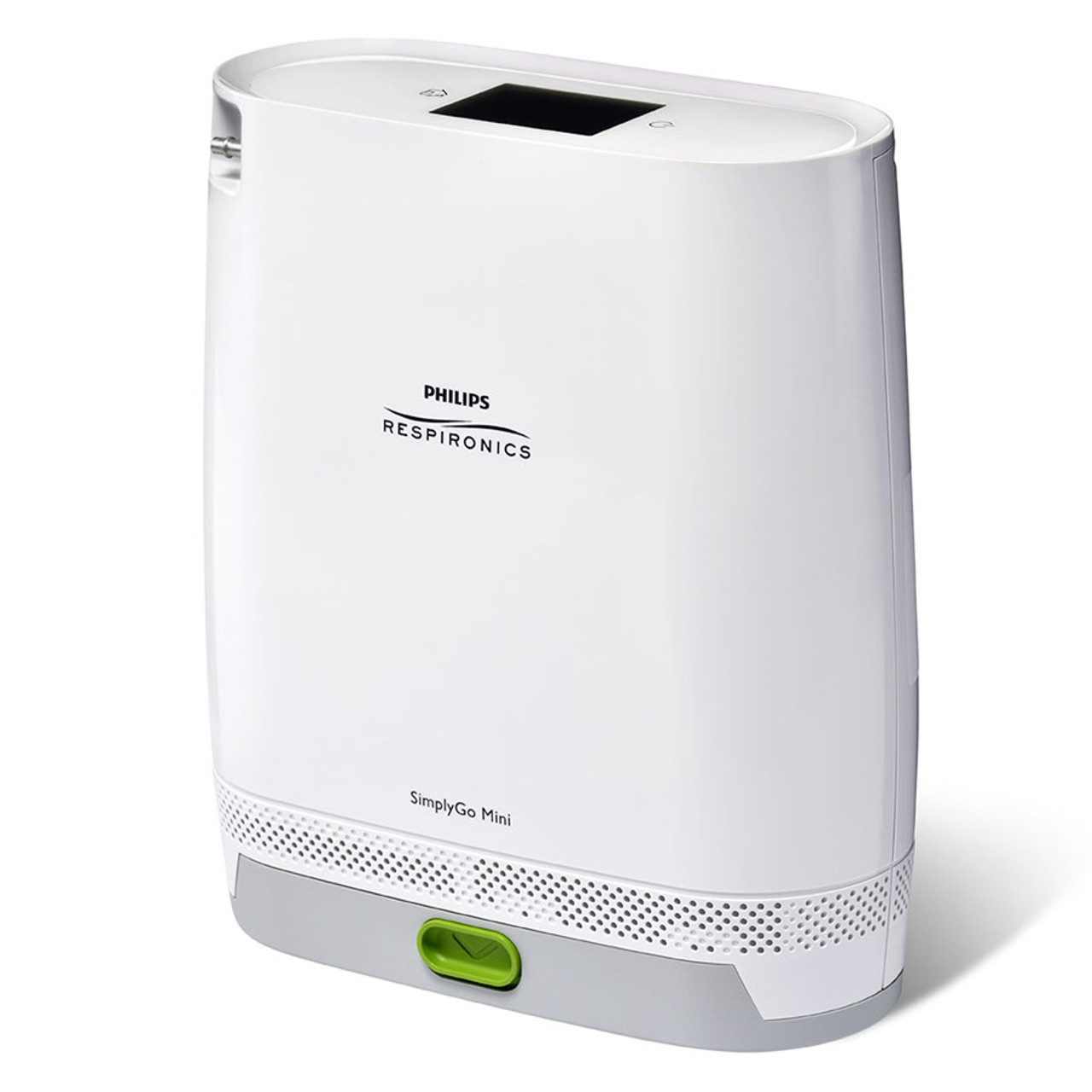 SimplyGo Mini by Philips Respironics Shown With Extended Battery